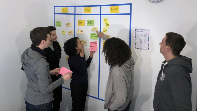 Co-workers as coaches: Agile workshop in Berlin